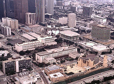 Our Lady of the Angels Cathedral in Los Angeles California is the third largest cathedral in the world and the first to be built in the US in over a quarter century.