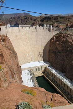 Historic Concrete Contractor Projects - Hoover Dam