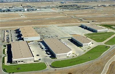 Trammell Crow Company's CargoCentre™ III and AirFreight & LogisticsCentres™ complex at Dallas / Fort Worth  International Airport, built by concrete contractor Bob Moore Construction company, is the first air cargo facility with parking space specifically designed to accommodate the Airbus A380 aircraft.